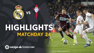 Highlights Real Madrid Vs Rc Celta 2-2