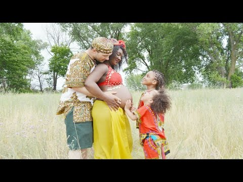 MY EPIC AFRICAN THEMED  MATERNITY PHOTO-SHOOT!!! | 2016