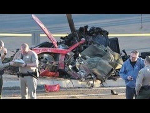 Paul Walker's Accident and Death Scene in Santa Clarita, CA.