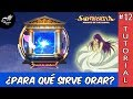 Un video corto explicando la opción de ORAR en el Juego Saint Seiya Awakening Knight of the Zodiac.