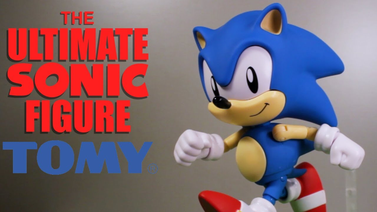 Ultimate Sonic The Hedgehog 1991 Tomy Figure Review Youtube