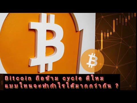 Bitcoin ถือข้าม cycle 📈 ดีไหม แบบไหนจะทำกำไรได้มากกว่ากัน ?
