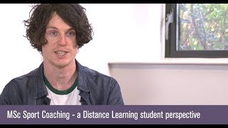 Distance Learning student Jake describes his experiences of studyin...