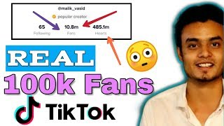 How to increase Real followers on Tik Tok 2019 | Get  more Fans on Tik tok | 1000% thumbnail