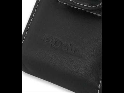 PDair Leather Case for Acer Tempo X960 - Vertical Pouch Type Belt clip inluded (Black)