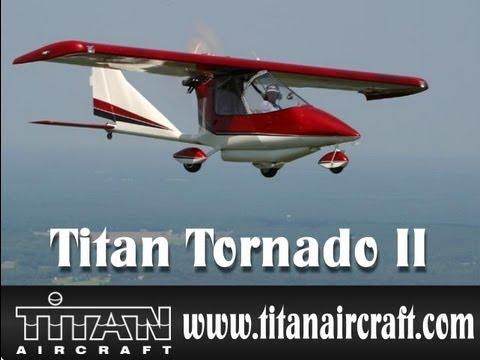 Titan Tornado II experimental amateurbuilt light sport aircraft.