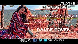 ||Nandu Mama ki Syali || Garhwali DJ Mashup || Easy Dance Steps || By Monika