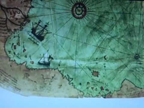 Piri Reis Maps of the World & Antarctica - YouTube