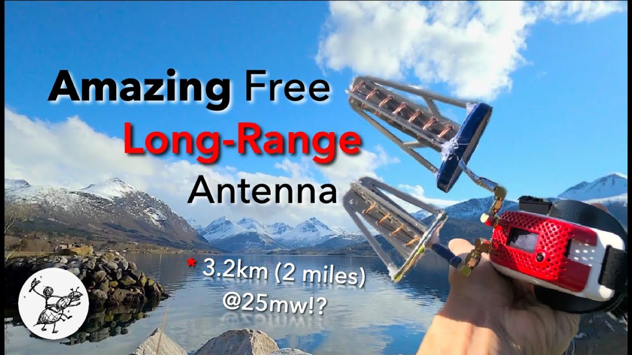 Download Easy DIY 5.8ghz Helical Antenna for FPV Drones. Improve Long range signal, flights & penetration
