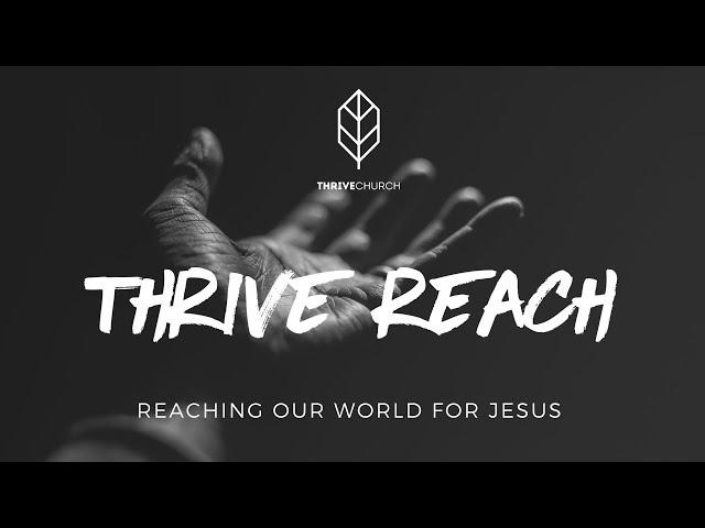 Thrive Reach - Vision 2021 | 13th February | Brad Hagan