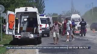 Страшная авария унесла жизнь одного человека в Бахчисарайском районе.