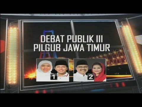 FULL - Debat Final Pilgub Jawa Timur