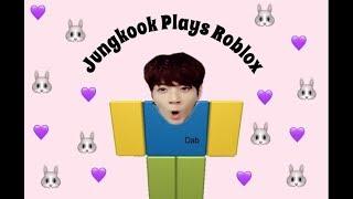 Jungkook Plays Roblox | fake subs ep1