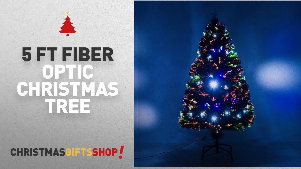 Most Popular 5 Ft Fiber Optic Christmas Tree: 5