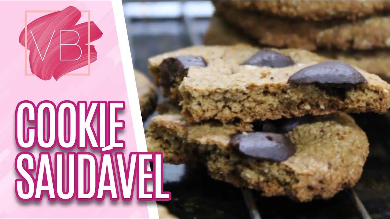 Aprenda a fazer um cookie saudável #EmCasa - Você Bonita (08/07/20)