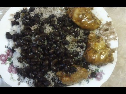 Rice And Beans Dominican Recipe Step By Step