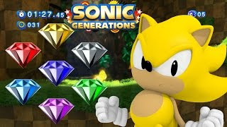 Sonic Generations (PC) How to Get Super Sonic [HD]
