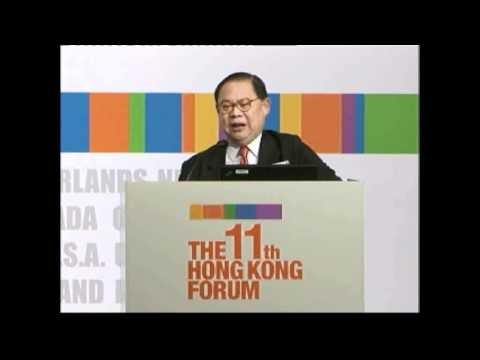 The 11th HK Forum - Victor Chu, Chairman, First Eastern Investment Group