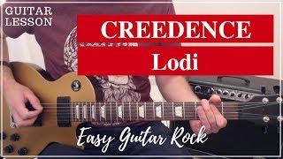Creedence - Lodi - Guitar lesson