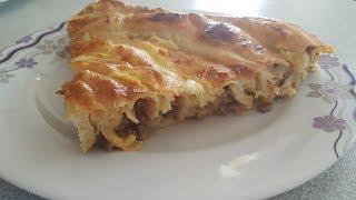 Kıymalı Rulo Böreği Tarifi-Basit Börek Tarifi