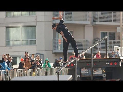 Skate Streetstyle Highlights Dew Tour 2012 - Ryan Sheckler, Milton Martinez & More