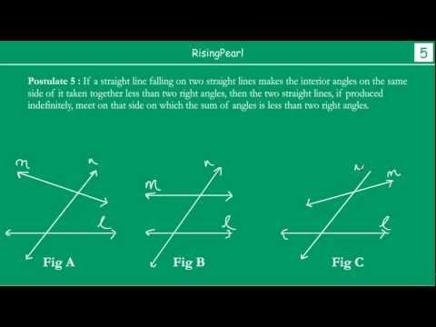 Euclid's 5th postulate
