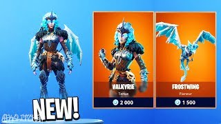 NEW SKIN VALKYRIE - DRAGON PLANOR (New Valkyrie Skin)! Fortnite Battle Royale