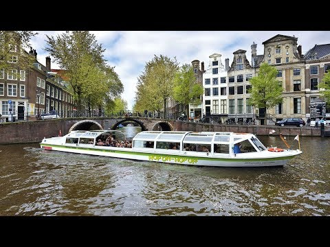 Amsterdam Canal Bus Hop-On Hop-Off Tour