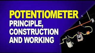 Potentiometer: Principle, Construction and Working of Potentiometer (Physics Animation)
