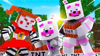 Funtime Freddy, Helpy, and Circus Baby Play With TNT ?! | Minecraft FNAF Roleplay