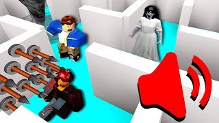 I made fans do a Roblox maze filled with screamers and loud noises