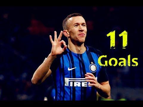 Ivan Perišić ● All 11 Goals in Serie A TIM ● 2017/2018
