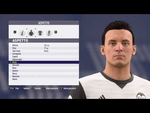 Ferran Torres Valencia Fifa 18 Create Face Youtube