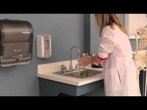 Hand washing for healthcare workers