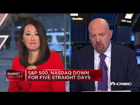 Jim Cramer on stock selloff: The market still has more to fall