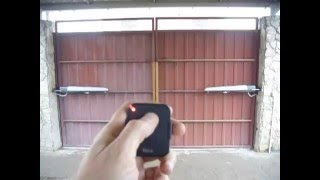 видео Монтаж откатных ворот-монтаж сдвижных ворота  - услуги по откатным сдвижным воротам - сервис откатных ворот - обслуживание ворот
