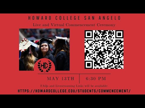 Howard College San Angelo 2021 Commencement