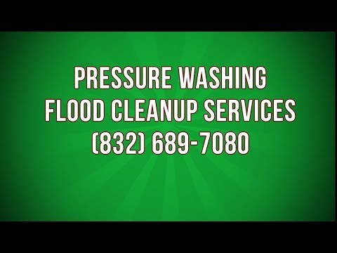 how to clean up washing machine flood