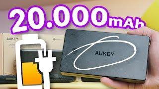 Power Bank 20.0000mAh Aukey E OLTRE!