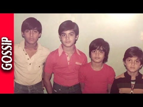 Salman Khan Shares A Throwback Picture - Bollywood Gossip 2017