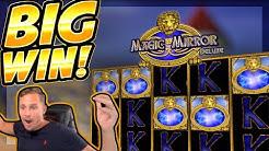 BIG WIN!!! Magic Mirror Delux 2 BIG WIN!! Online Casino slot from CasinoDaddy Live Stream