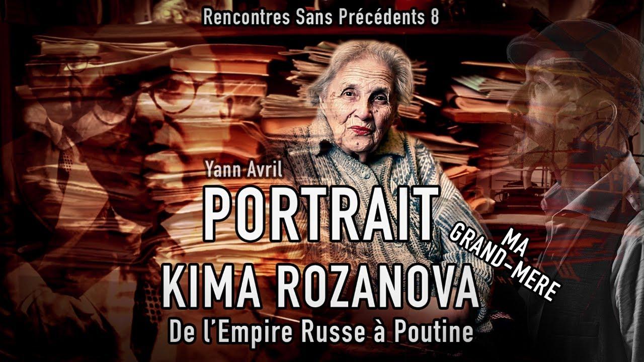 """ПОРТРЕТ (8): КИМА - """"ОТ РУССКОЙ ИМПЕРИИ ДО ПУТИНА"""" - DE l'EMPIRE À POUTINE"""