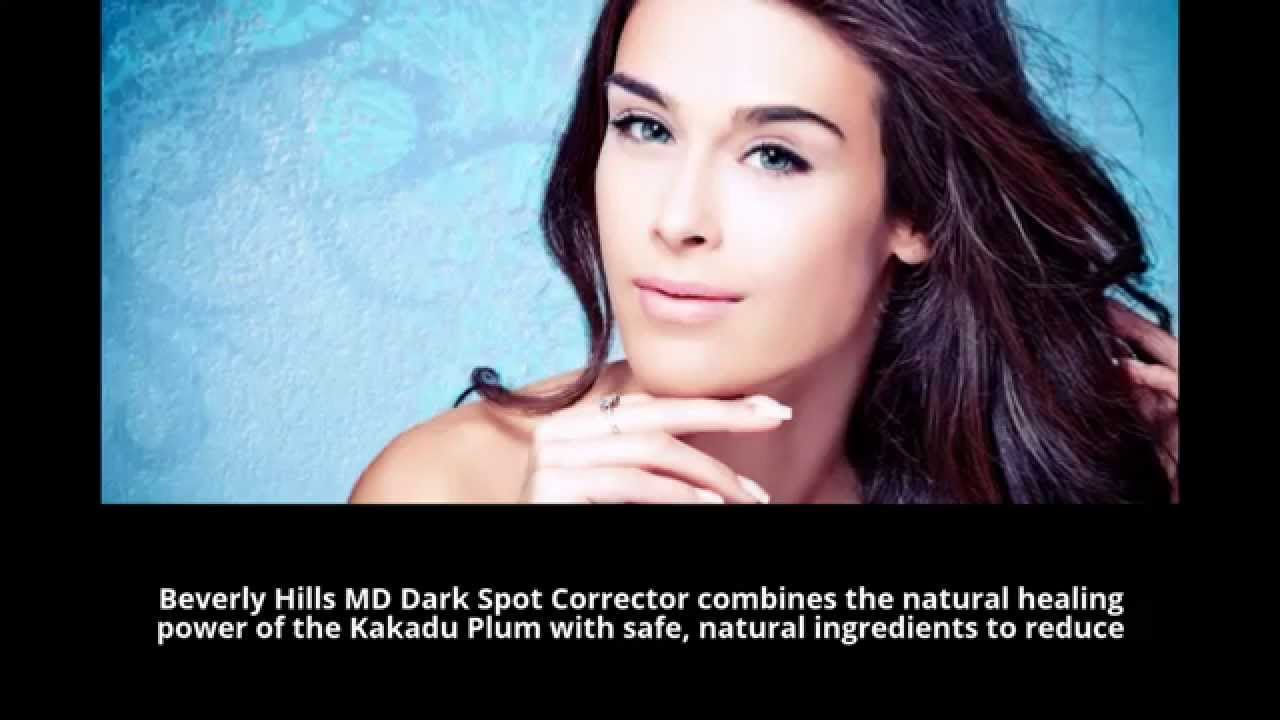 Beverly hills md dark spot corrector video click for details