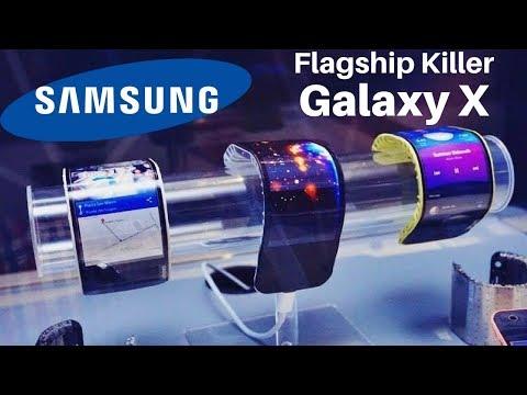 Samsung Galaxy X - Foldable Smartphone   Foldable display