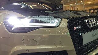 Audi RS6 Beige Audi Forum Neckarsulm(, 2015-09-20T00:49:43.000Z)