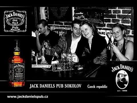 Jack Daniels pub Sokolov - YouTube