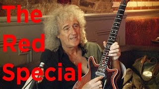 Queen guitarist Brian May talks about building The Red Special guitar