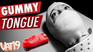 The Giant Gummy Tongue