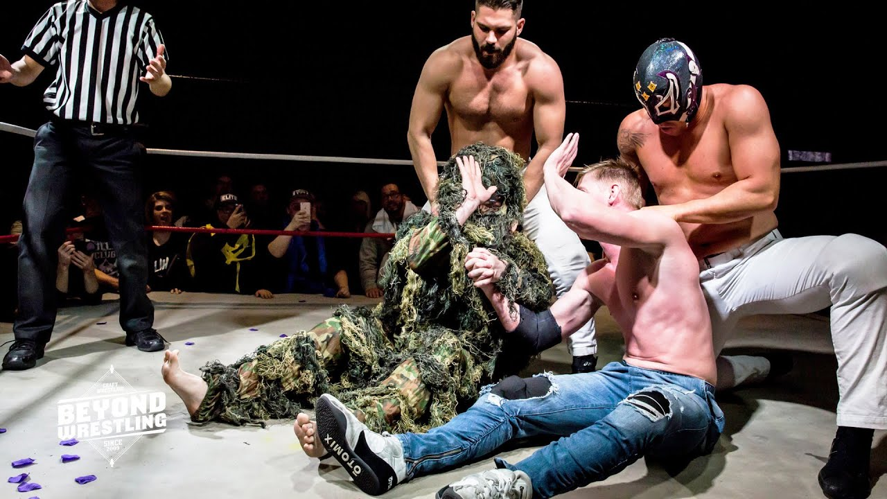 [Free Match] Orange Cassidy & Chuck Taylor v. Massage NV | Beyond Wrestling (AEW Dark Elevation VSK)