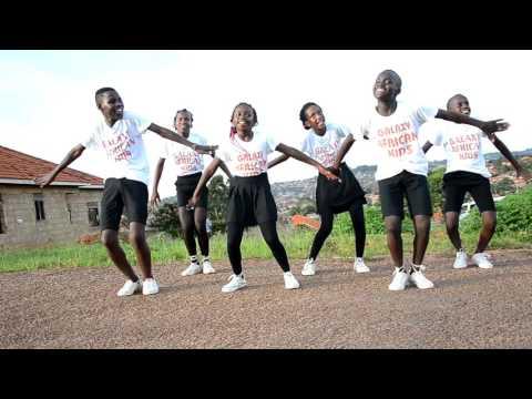 Nkwatako Remix Sheebah ft Solidstar Dance Cover by Galaxy African Kids (Official HD Video) thumbnail